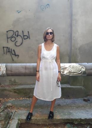 Льняное платье crea concept