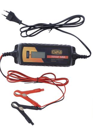 Зарядное устройство Сила - 3,8 А x 6 В-12 В импульсное