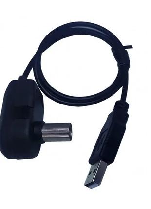 Інжектор живлення USB 5V під зажим кабелю