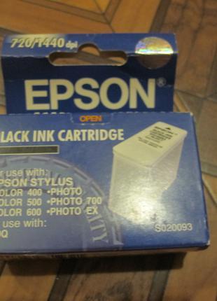Картридж для струйного принтера Epson color 400 черный
