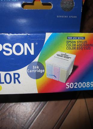 Картридж для струйного принтера Epson color 400 цветной