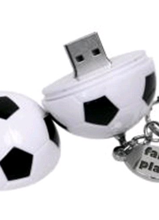 Флешка 32 Гб футбольный мяч