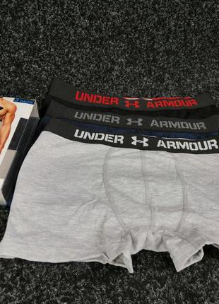 Шикарные мужские подарочные наборы белья under armour котон ел...