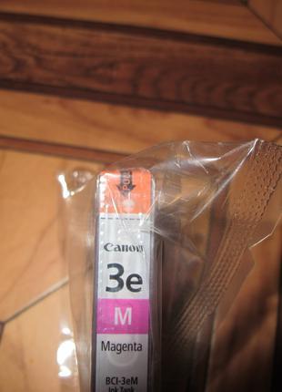 Картридж для струйного принтера Canon BCI 3eМ красный