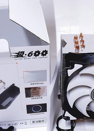 Кулер Охлаждение для Процессора Intel/AMD 115*/1366/2011/AM3+4