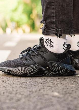 Шикарные мужские кроссовки adidas prophere all black