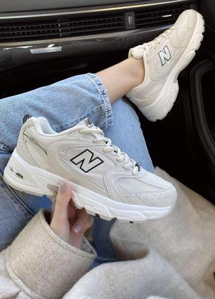 Новинка женские кроссовки new balance 530 beige