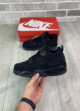 Новинка мужские кроссовки nike air jordan 5 retro black