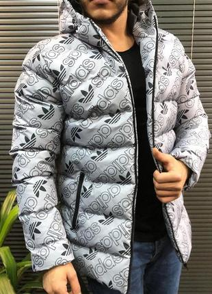 Новинка мужские зимние куртки adidas