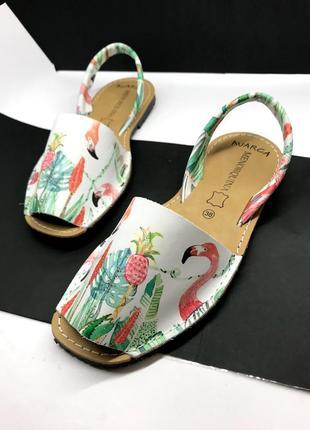 36 37 38 39 40 41 р сандалии менорки оригинал испания фламинго