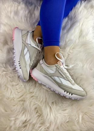 Reebok classic legacy женские кроссовки