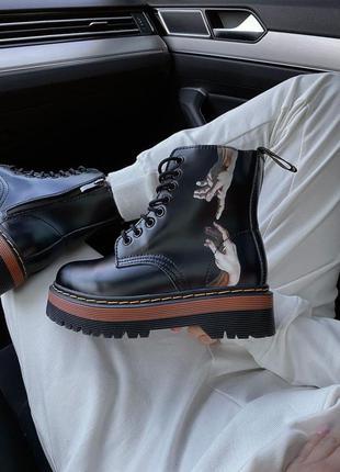 Dr. martens jadon женские ботинки без меха