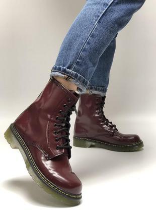 Новинка женские ботинки dr. martens 1460 без меха