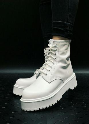 Шикарные женские ботинки dr. martens jadon без меха