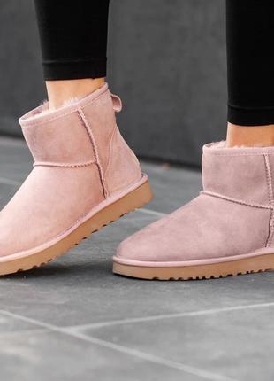 Женские женские зимние сапоги ugg classic mini ii boot