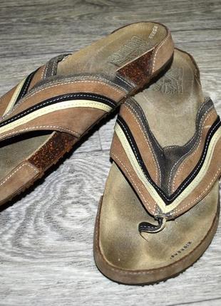 Продам кожаные мужские брендовые вьетнамки kickers  43  27, 5-...