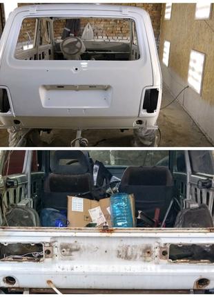 Рихтовка покраска ремонт  сварка авто