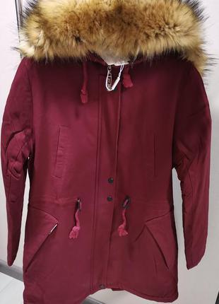 Куртка-парка зимняя женская