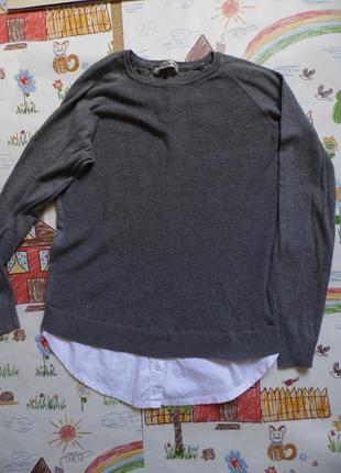 Кофтинка-блуза