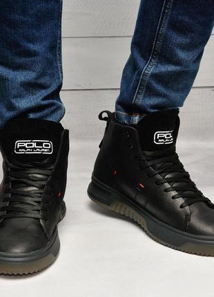 Ботинки мужские с мехом us polo assn