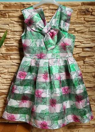 Нарядное платье gaialuna (италия) на 10-11 лет (размер 146)