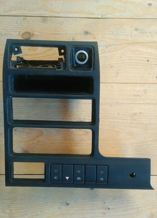 Накладка для магнітоли + прикурювач + кнопки управління