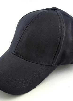 Бейсболка мужская кепка 54 по 58 размер каттон низкая посадка