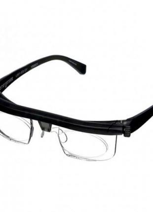 Очки с регулировкой линз, очки-лупа