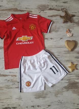 Manchester united 11 martial футбольный спортивный костюм