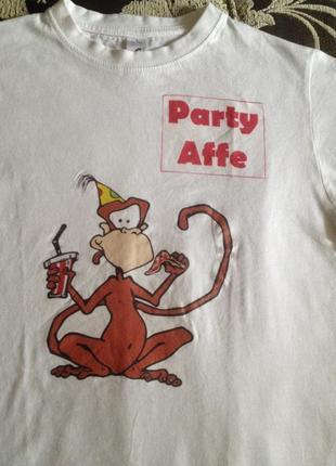 Детская футболочка с рисунком на 5-6 лет