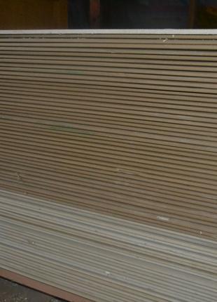 Потолочный гипсокартон 1200х2500х9 мм