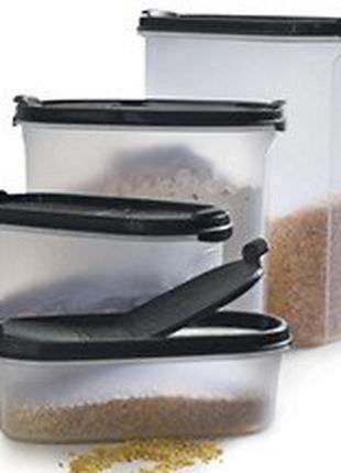 Набор контейнеров «Компактус», 4 шт, tupperware