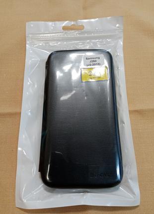 Книжка чехол  Samsung J250 (J2-2018) черный
