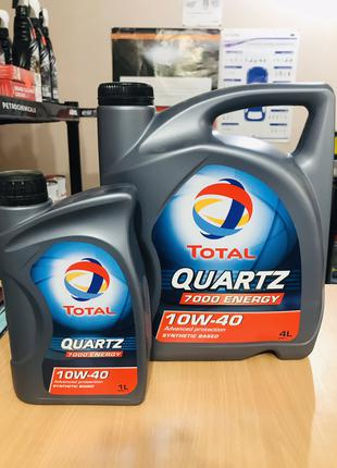 Моторное масло Total Quartz 7000 Energy 10W-40