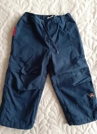 Утепленные штаны для мальчика