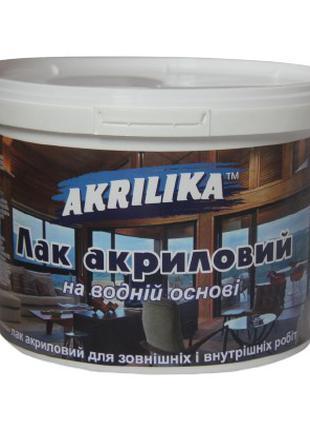 Лак акриловый глянцевый Akrilika 3 л от производителя