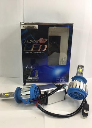 LED лампа Turbo Led T1 H7 (Пара)