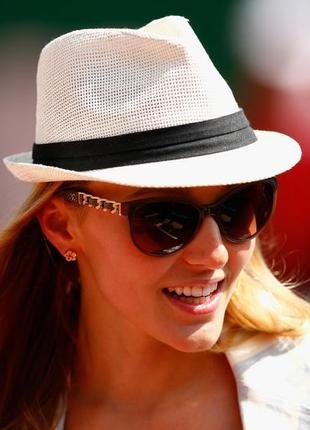 Женская шляпка,челентанка,летняя шляпа,светлая