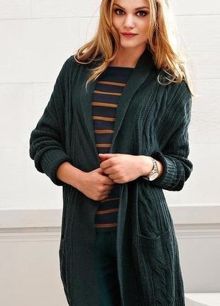 Модный кардиган-кофта с добавлением 10% шерсти-немецкое качество