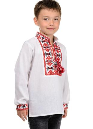 Детская рубаха,вышиванка для мальчиков