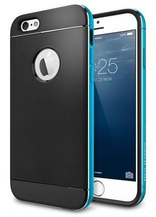 Защитный чехол Spigen Neo Hybrid Blue Синий для iPhone 6/6s