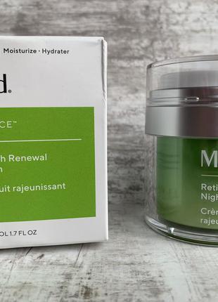 Обновляющий ночной крем с ретинолом murad resurgence retinol y...