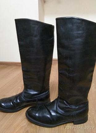 Хромовые сапоги чоботи 42р.