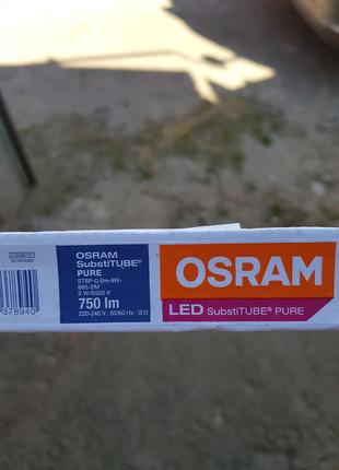 Лампа LED ST8P-0.6m 9W-865 G13 OSRAM
