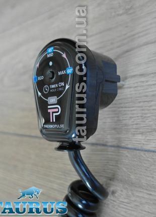 Регулятор на вилці + таймер 3г., чорний ThermoPulse Black до 400W