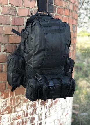 Распродажа / рюкзак тактический с подсумками / 55+10 литров/ т...
