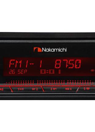 Процессорная магнитола 1DIN Nakamichi NQ722BD с Bluetooth
