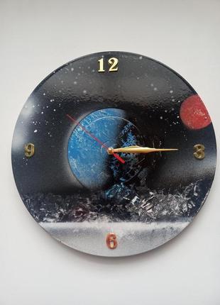 Часы арт настенные