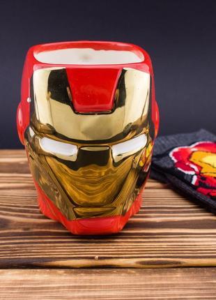 Керамическая кружка  Iron Man Железный человек
