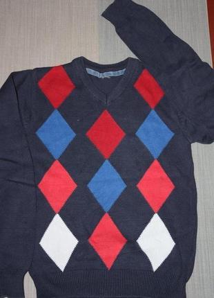 Пуловер трикотажный ф.h&m для мальчика р-146/152